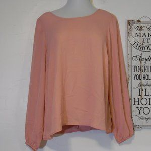 Peach Forever 21 blouse size 2x